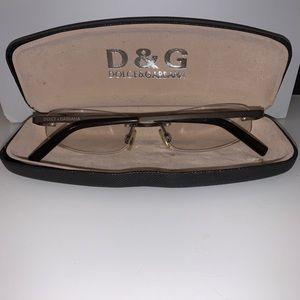 D&G designer Rx glasses 52-16-135